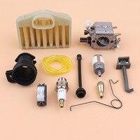 Carburetor Air Filter Intake Boot Choke Rod Oil Hose Kit For HUSQVARNA 365 371 372 362 Chainsaw Walbro Carb HD 12 HD 6