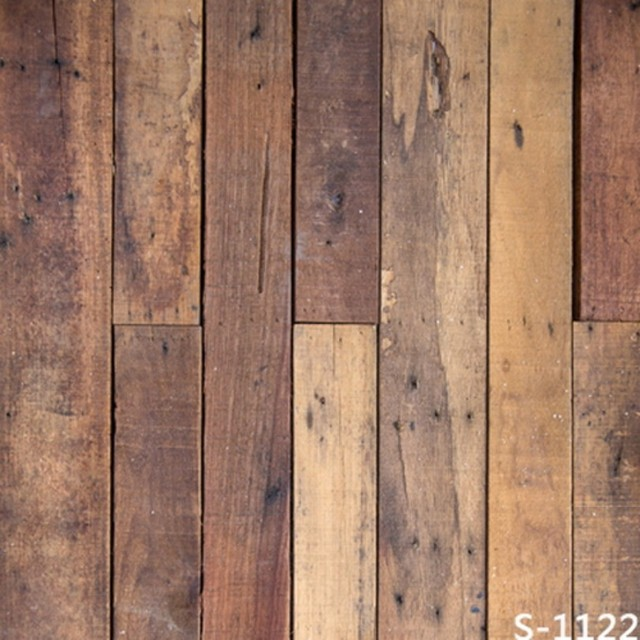 Brown Faux Reclaimed Barn Wood Backgrounds For Sale Vinyl