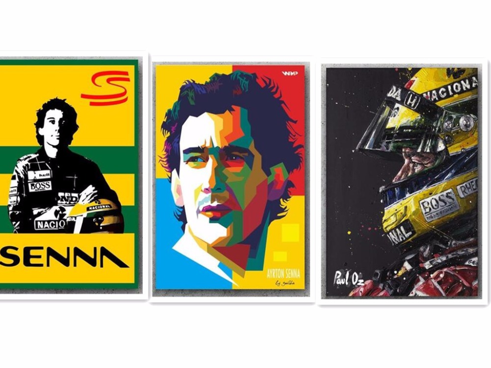 custom diamond painting Ayrton Senna Da Silva F1 Racer eigen foto 5d diy diamond painting full square icon diamond embroidery