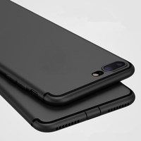 Luxury Back Soft Matte Silicon Cute Case for iPhone 8 Cases 6s Plus 5 5s SE 6 X Case Full Cover For iPhone 7 7 Plus Phone Cases