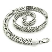 13mm Huge Heavy Gothic Silver Tone Stainless Steel Biker Simple Desinger Brand Men Fine Snake Necklace Links Chain New Arrival