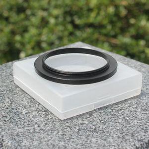 Image 4 - 스테레오 현미경 접안 렌즈 필터 액세서리 용 M42 커플 링 어댑터 링에 검은 색 내구성 알루미늄 합금 M48