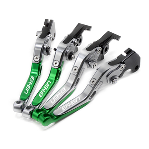Image 5 - CNC Motorcycle Accessorie Adjustable Folding/Foldable Extendable Brake Clutch Levers For Kawasaki ninja 650r er6f er6n 2006 2008