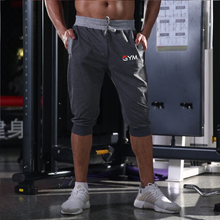2019 summer new men's sports shorts Bermuda men's shorts fashion casual although color stitching shorts large size men's shorts