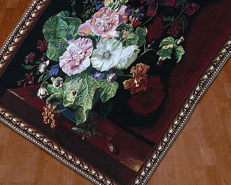 Creatieve België muur opknoping stilllife decoratieve tapestry slaapkamer deken model kamer schilderijen home improvement items muurschilderingen - 3