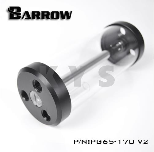 Barrow PG65 V2 65mm Glass Transparent Reservoir Tank 170 170mm projector lamp bulb an xr20l2 anxr20l2 for sharp pg mb55 pg mb56 pg mb56x pg mb65 pg mb65x pg mb66x xg mb65x l with houing