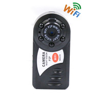 Motion Detection Q7 Mini Wifi DVR Wireless IP Camcorder Video Recorder Camera Infrared Night Vision Camera Built-in Microphone