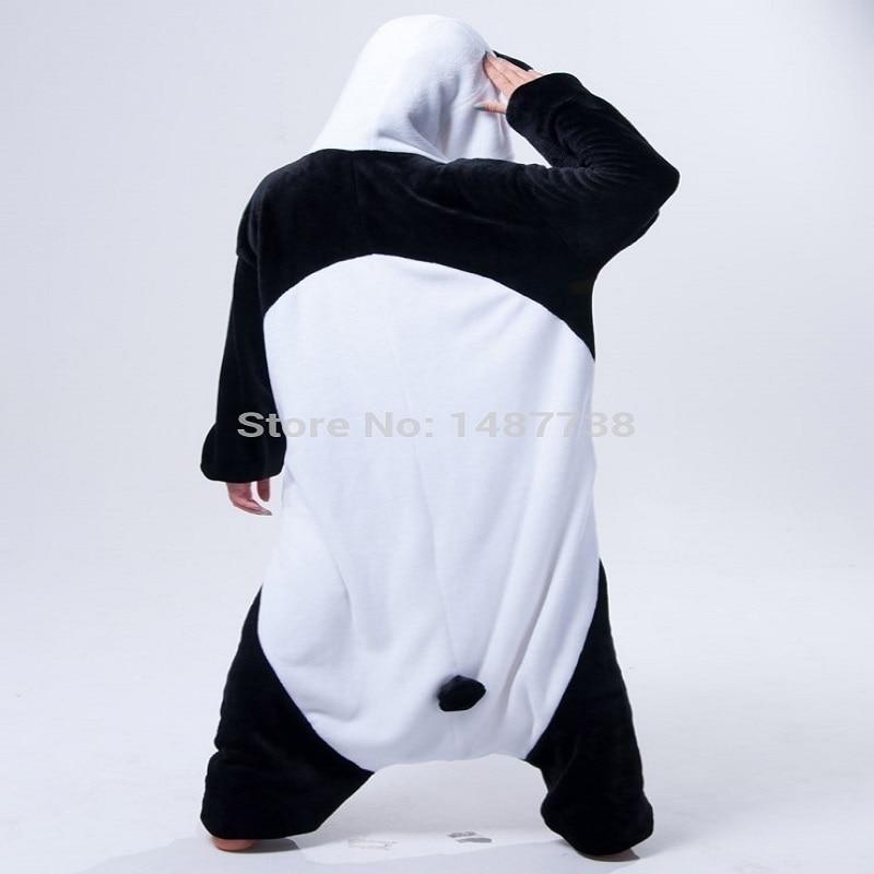 Kigurumi Panda Pajamas Animal Onesies Romper Sleepwear Jumpsuit - საკარნავალო კოსტიუმები - ფოტო 5