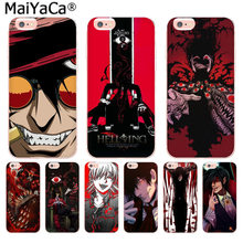 Maiyaca Anime Hellsing Alucard Fan Baru Fashion Ponsel Case PENUTUP UNTUK iPhone 11 Pro 8 7 66S Plus X 10 5S SE XR XS X Max(China)