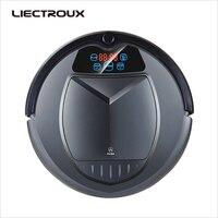 LIECTROUX B3000 PLUS,робот пылесос с танком для воды (влажная и сухая уборка) сенсорный экран, фильтр HEPA, настройка времени уборки,виртуальная стена, а