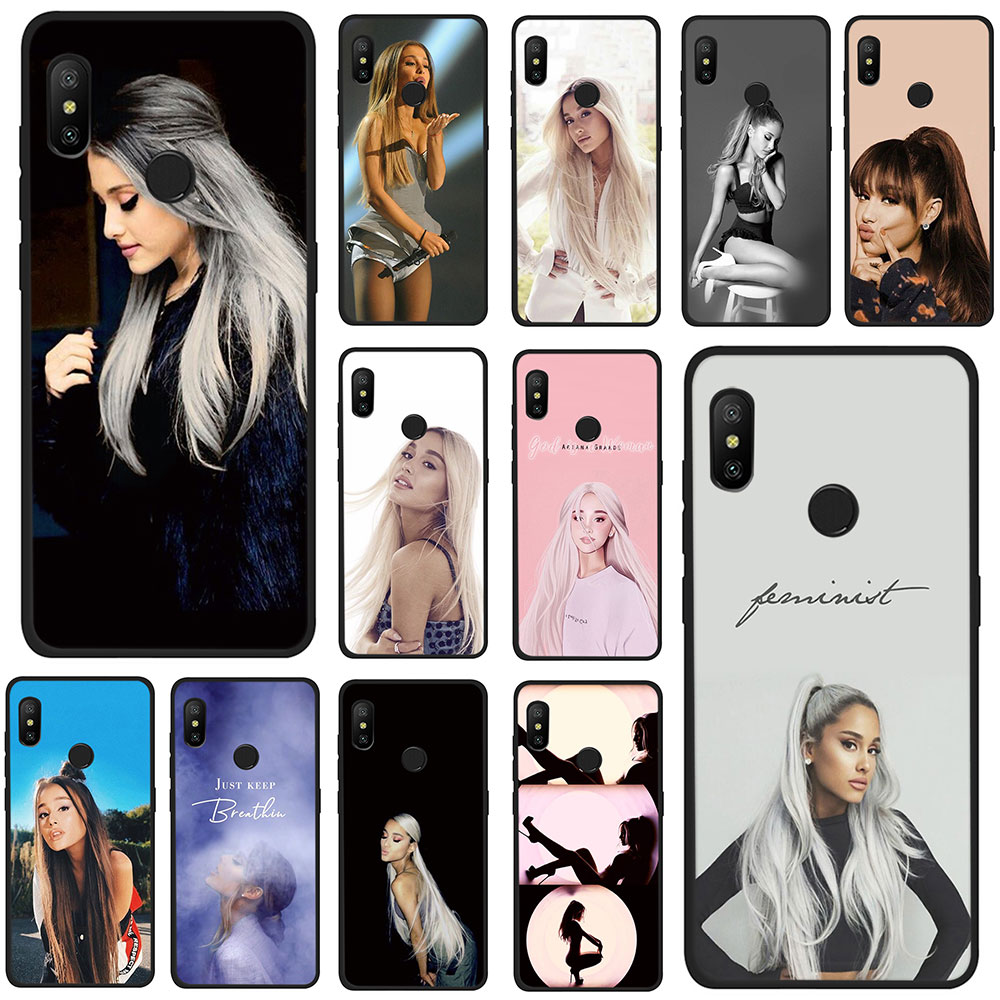 Adroit Cat Ar Ariana Grande Novelty Fundas Soft Tpu Phone Case For Xiaomi Mi 6 8 9 Se A2 Lite 6 A1/5x A2/6x Max 3 F1 Quality And Quantity Assured Half-wrapped Case Cellphones & Telecommunications