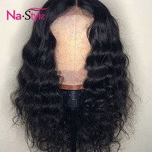 150 Density Wavy Wig 360 Lace Frontal Wig 360 Full Lace Wig Human Hair With Baby Hair Ponytail Lace Wigs For Black Women Remy
