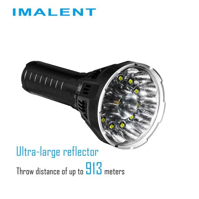 IMALENT MS12 Flashlights Linternas Led Rechargeable de Alta Potencia CilcismoPower Meter Cycling 53000 Lumen High Power Torch
