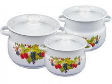 Набор кастрюль Сибирские товары, Ягодный чай, 6 предметов