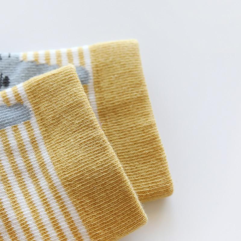Baby Boy Socks 5 Pairs Children Autumn Winter Cartoon Socks For Girls Kids For Girls To School Sport Baby Girl Clothes #6