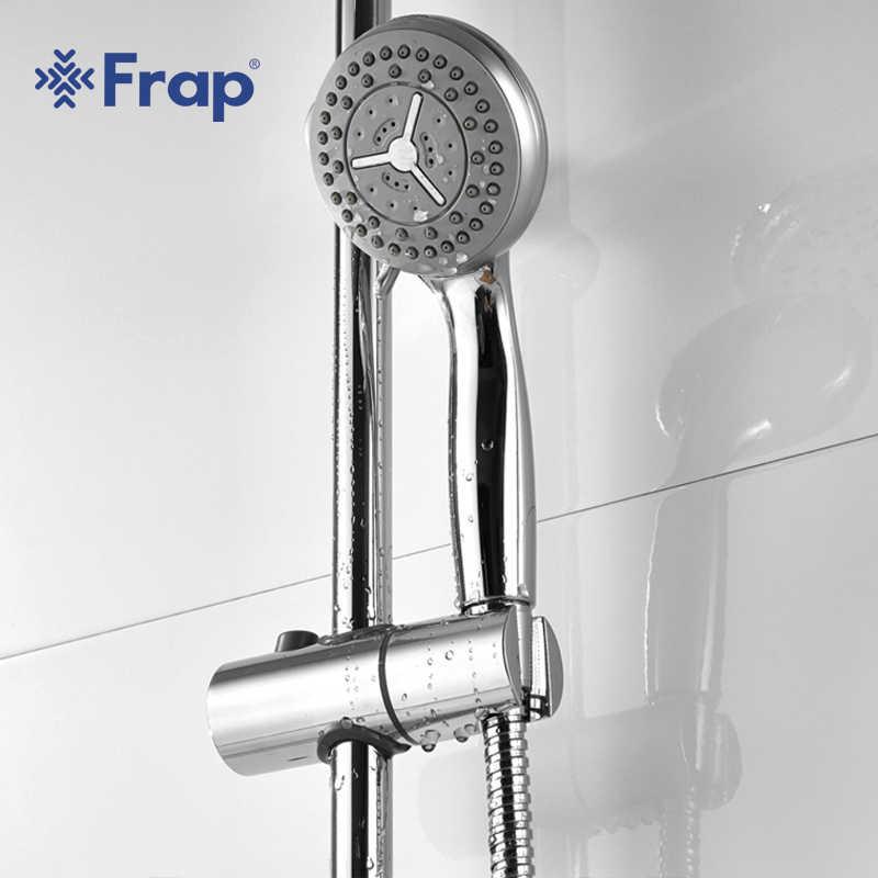 FRAP Đơn Lạnh Vòi rửa chén inox ống Trên Cao showerhand có ABS tay sen xoay bồn tắm tập F2405