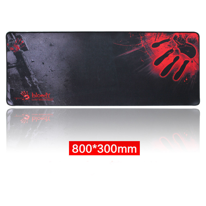 Rubber Large XL 8003003mm Gaming Mouse Pad Laptop Keyboard Mat Stitched Edges_7
