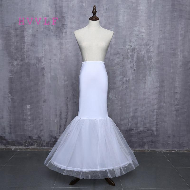 2019 Latest Elegant White Mermaid Wedding Petticoat Under Skirt In Stock Wedding Accessory