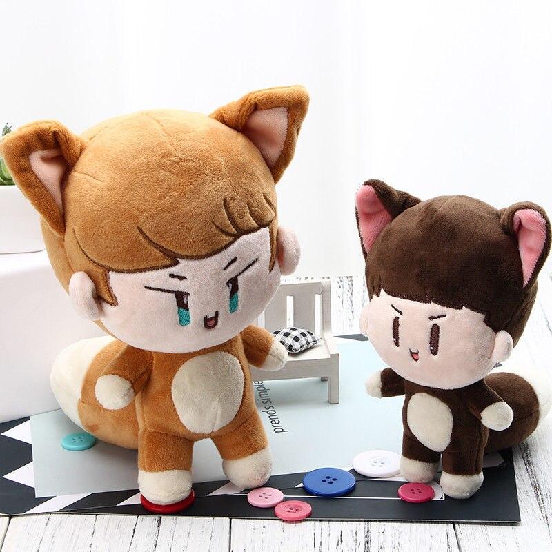 PCMOS KPOP Shinee muñecos de peluche uno Jonghyun] Clave Min Ho juguetes Taemin Animal muñeca de juguete para los niños de las mujeres regalo - 6