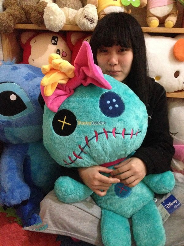 Fancytrader Copyrighted New 26\'\' 65cm Super Giant Stuffed Soft Plush Giant Cute Stitch, Free Shipping FT50794 (3)