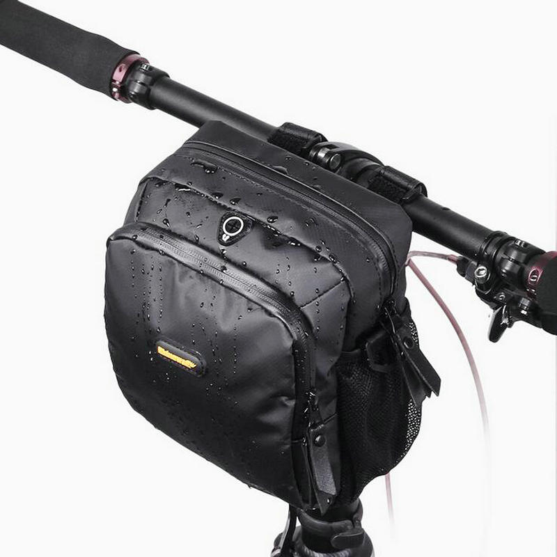 RHINOWALK 4L Bicycle Handlebar Bag Full Waterproof Folding Bike Front Bag Electric Bike Cycling Bag Panniers with Rain Cover 3x5ft 5x7ft wood floor wall vinyl photography background studio photo prop photographic backdrop waterproof new