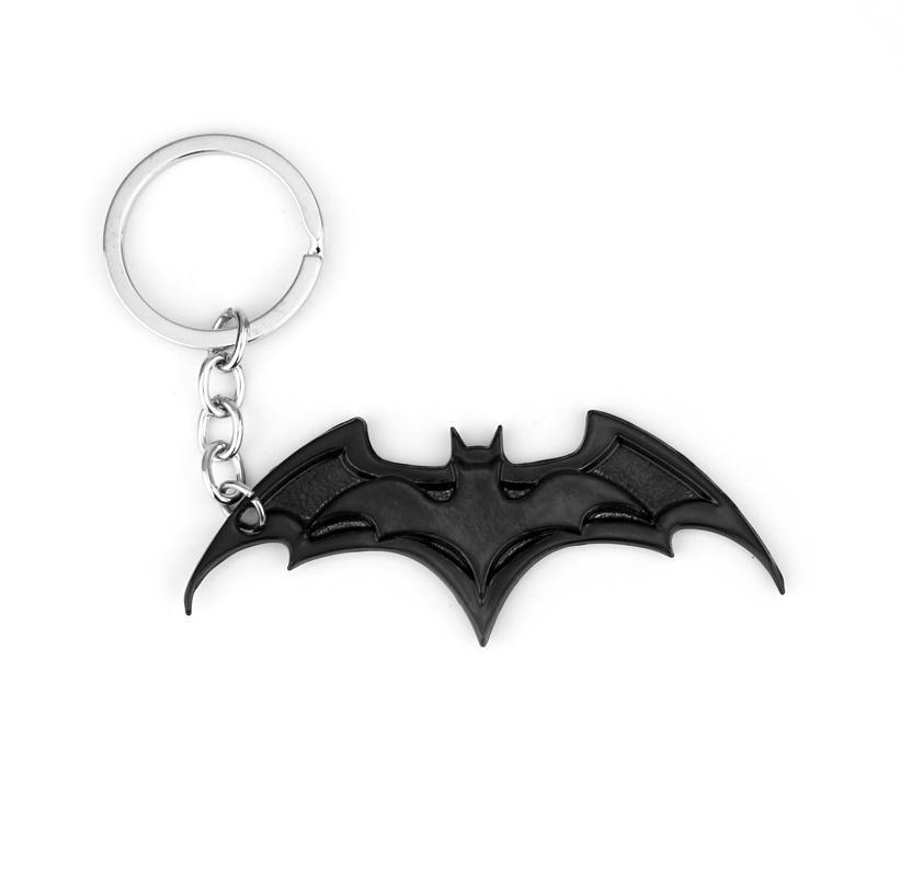HTB1WtCaQFXXXXXvXXXXq6xXFXXXW - 2019 New Fashion Avenger Union Batman keychains For Bag Key Holder Charm Hanging pendant Car Key Chains Key Ring Women & Men
