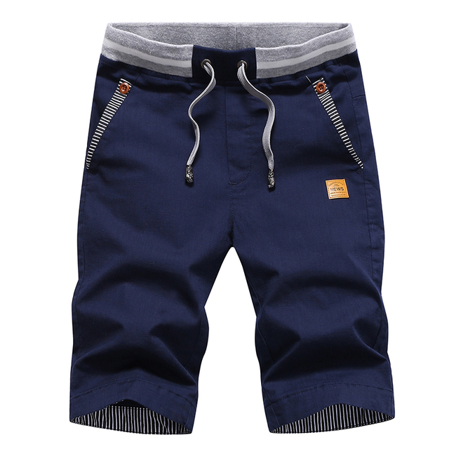 2020 summer solid casual shorts  5