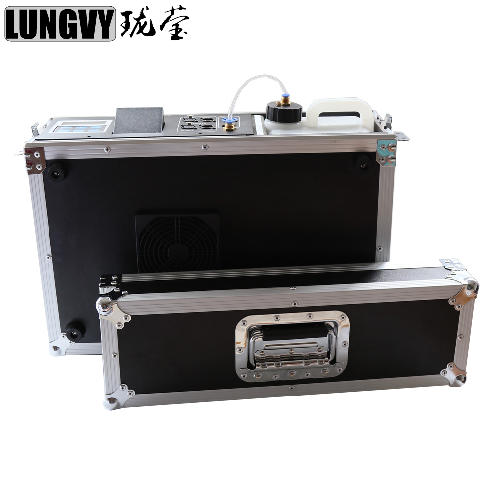 Free Shipping 900w Mist Haze For Stage Equipment With Fog Liquid Water Based Flight Case 3