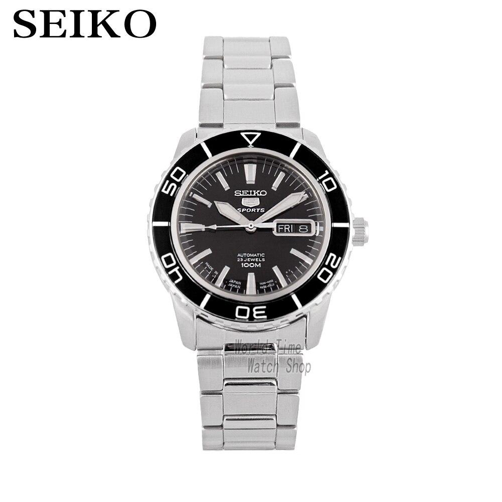 SEIKO Watch Seiko 5 automatic mechanical movement diving male watch casual fashion strip SNZH57K1