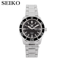 SEIKO Watch Seiko 5 automatic mechanical movement diving male watch casual fashion strip watch SNZH57K1 ik colouring gold steel strip calendar automatic mechanical watch vintage mens watch male casual watch