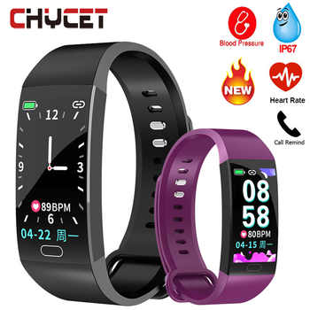 2019 Smart Bracelet Men Women Blood Pressure Measurement Smart Wristband Waterproof Heart Rate Fitness Tracker Smart Band Watch - DISCOUNT ITEM  38% OFF All Category