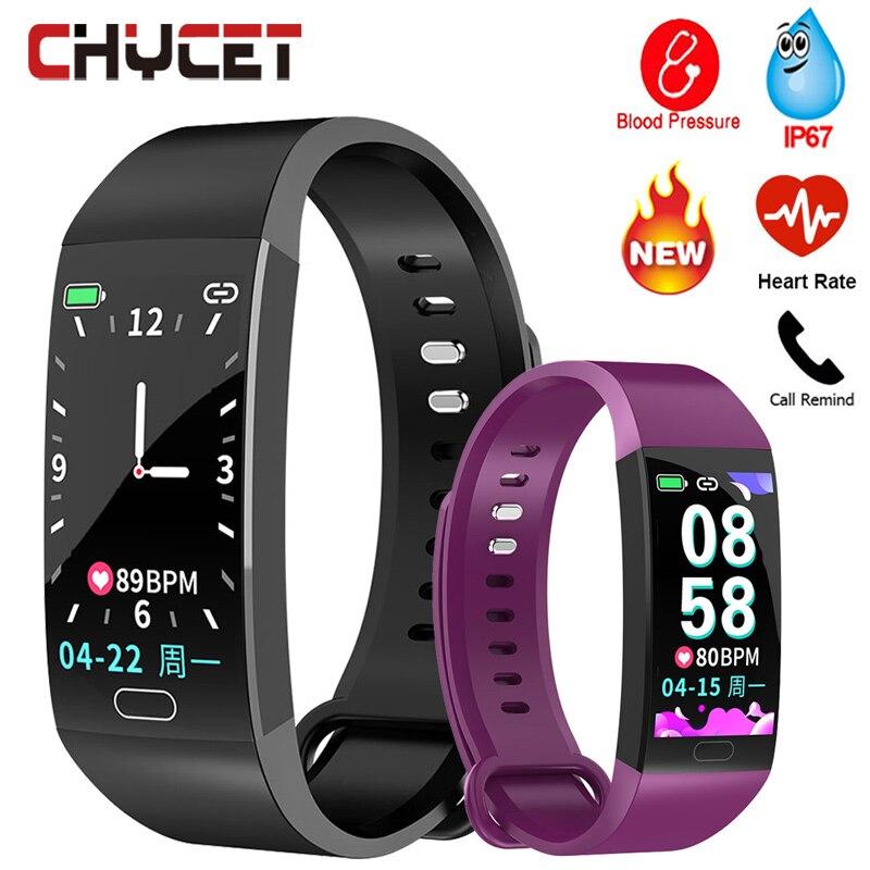 2019 Smart Bracelet Men Women Blood Pressure Measurement Smart Wristband Waterproof Heart Rate Fitness Tracker Smart Band Watch