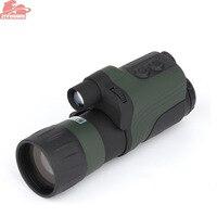 ZIYOUHU 4X50 Инфракрасный цифровой Ночное видение Экран дисплея Высокое разрешение Ночное видение s Монокуляр для охоты 300 м Диапазон