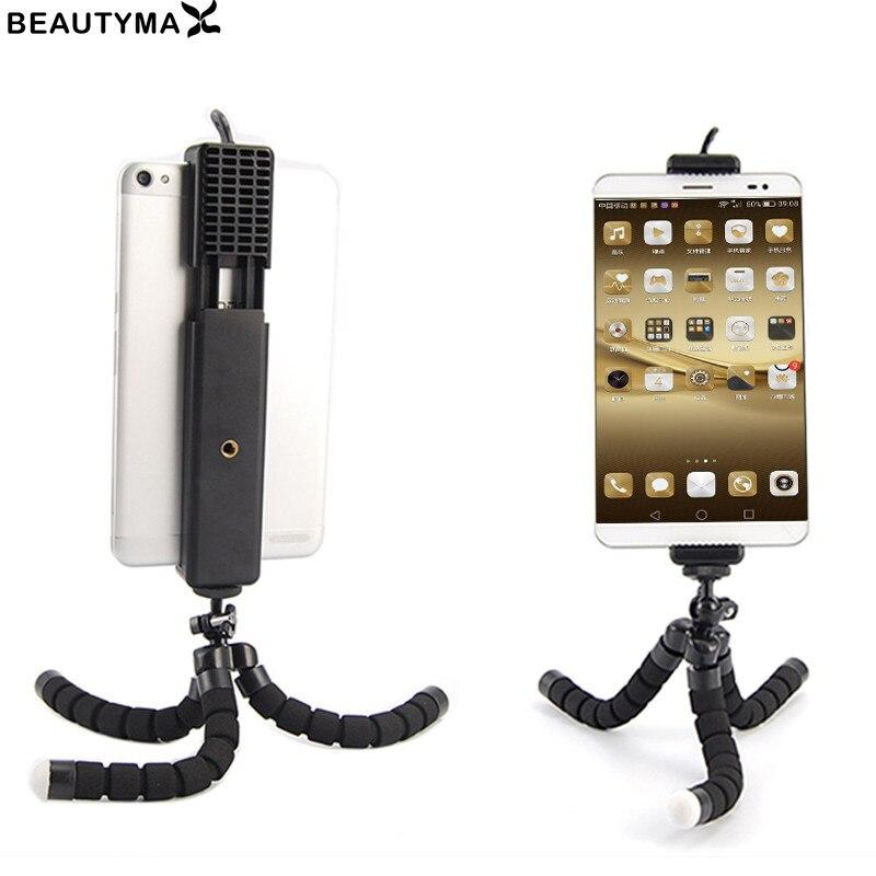 IPad Tablet Adapter Phone Holder Stand Mount Bracket Clip Selfie Stick Tripod