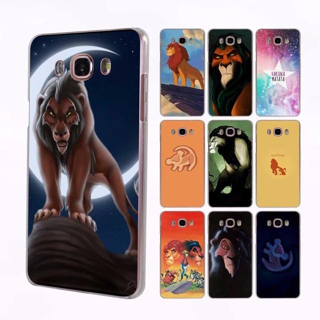 big sale e6e17 d93a2 US $2.5 |comic The Lion King Hakuna Matata transparent clear hard case  cover for Samsung Galaxy J7 J5 J3 J2 J1 J7 2016 J7Prime J5 2017 J-in ...