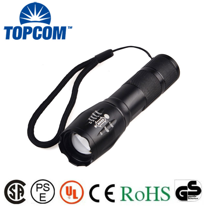 [Free Ship] High Power 2000LM T6 XPE 5 Modes Zoom Tactical LED Flashlight Torch G700 Waterproof Flashlight Torch Lanterna футболка рингер printio леонов кин дза дза