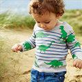 Boys T shirt Autumn&Spring Long Sleeve Character Crocodile Boys Clothes Tee Shirt Enfant Cotton Casual Boy T shirts for Children