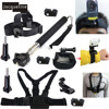 Accessory Monopod Mount Accessories Head Chest Wrist Strap Kit For Sony Action Cam HDR AS15 AS20