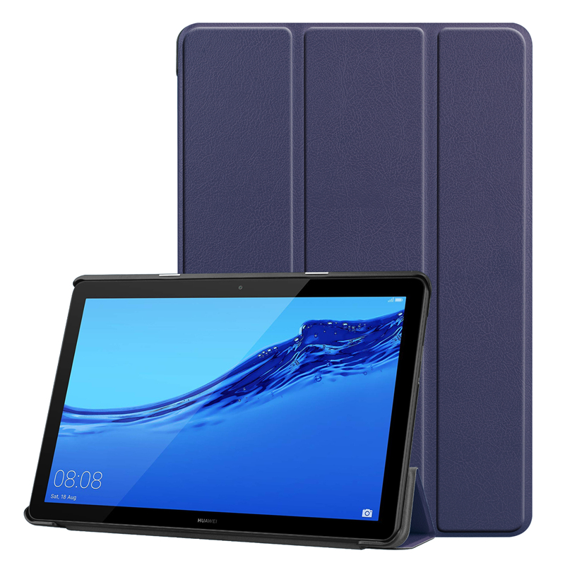 Magnetic Auto Sleep\Wake Case For Huawei Mediapad T5 10 AGS2-W09/L09/L03/W19 10.1 Inch Tablet PU Leather Cover