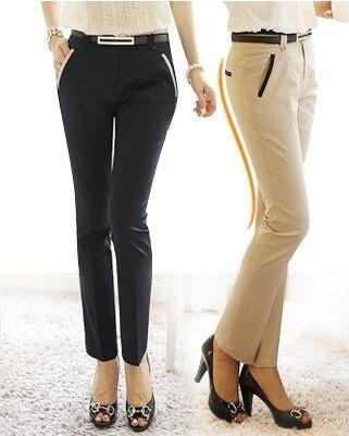Popular Black Work Pants for Women-Buy Cheap Black Work Pants for ...