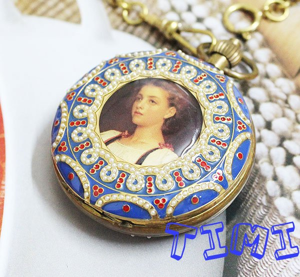 Rare Archaize 5 Hands Mechanical Pure Brass Pocket Watch rare жилет