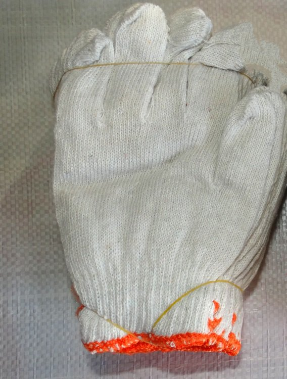 Wear non-slip protective labor insurance <font><b>cotton</b></font> gloves thin section 60 pairs of season