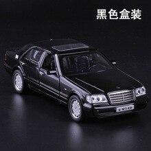 Rapporto di 1:32 in lega modello di auto d'epoca per mercedes-benz die cast modello di auto modello toys old fashion