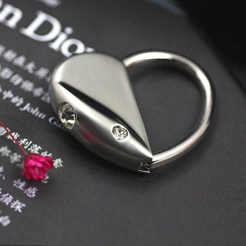Мода Романтический Кристалл Любовь Сердце брелок с мышью брелок кольцо брелок Брелок 86405