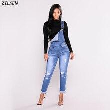 2019 новая горячая мода весна и осень повседневная пригородная дыра мода эластичный цельный джинсовы Лучший!