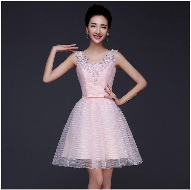 v neck short fairy princess prom dresses tulle lace pink dress ball ...