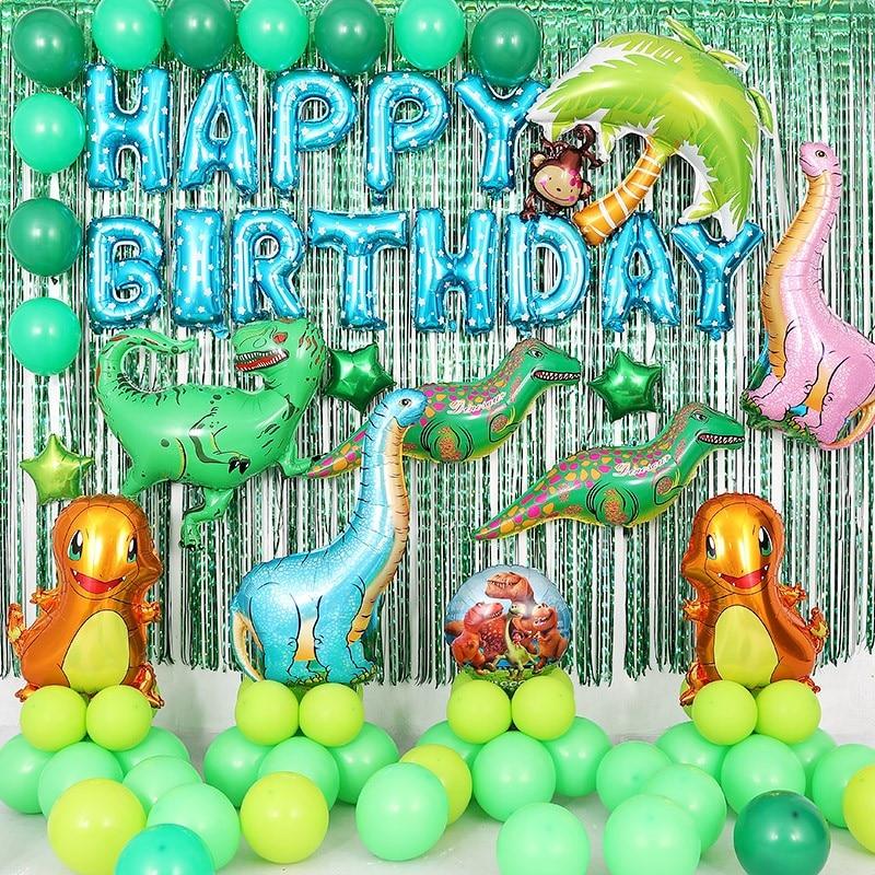 Big Dinosaur Balloon Baby Shower Large Jurassic Park ...