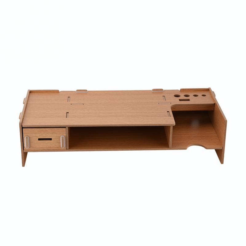 2-level Laptop Stand And Monitor Organizer For Desktop Items And Laptops