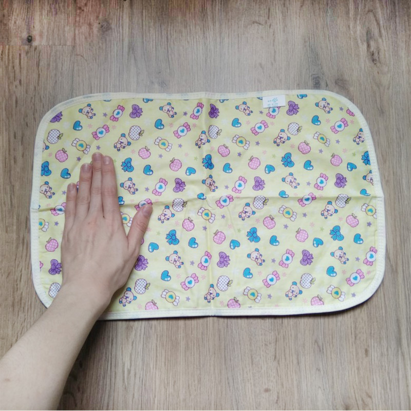 30*45cm Baby Reusable Mattress Waterproof Diapering Changing Pads Cotton Washable Newborn Mattress Baby Changing Mat | Happy Baby Mama