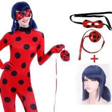 dcde0f977f Lady bug fantasias meninas disfraz marinette joaninha cosplay adulto  crianças dos miúdos com peruca fantasia fantasia · 3 Cores Disponíveis